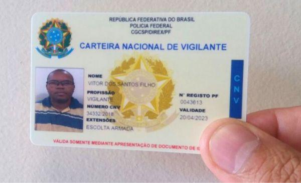 931a44d7f A partir do dia 10 de maio, o Sindicato passará a confeccionar a Carteira  Nacional de Vigilante (CNV) em cartão. A iniciativa tem o objetivo de  oferecer aos ...